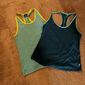 Bundle of 2 racerback work out tops